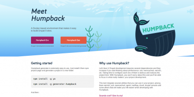 Screenshot of humpbackdev.com