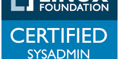 Badge of Linux Foundation Certified Sysadmin